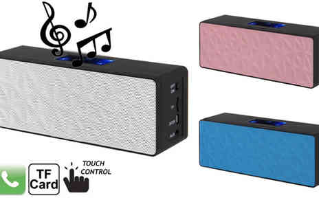 Euro Field - Bluetooth Stereo Speaker - Save 58%