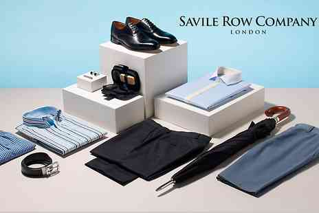 Savile Row - £40 to Spend on Shirts, Suits, Accessories and Casual Wear  - Save 50%