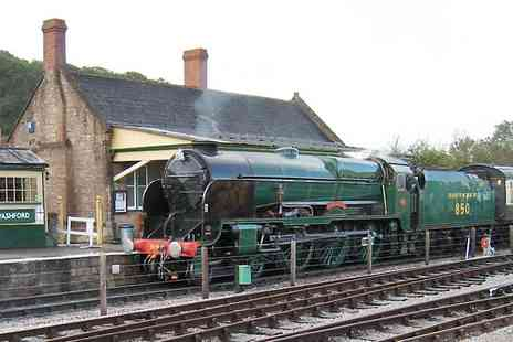The Somerset -  Entry to Dorset Railway Trust Museum With Drinks For Two  - Save 30%