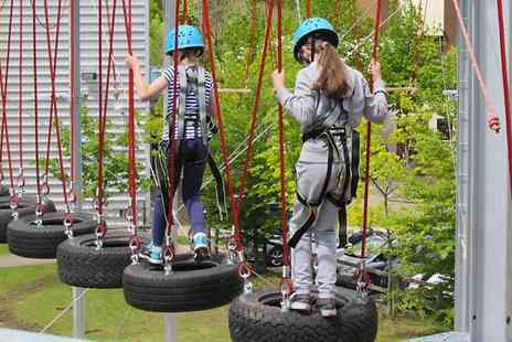 Rock Summit Centre - High Ropes Course For One - Save 0%