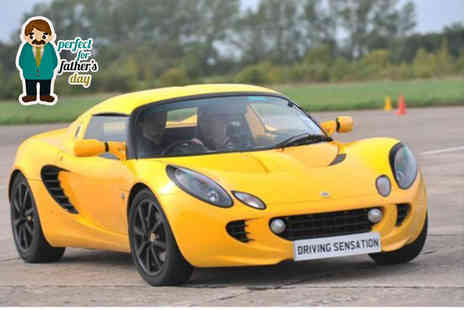 Driving Sensation - Lotus Elise, Subaru Impreza or Porsche 911 supercar driving experience  - Save 51%