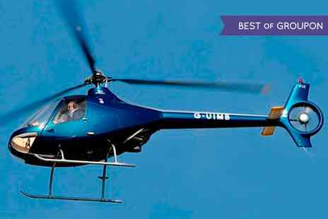 Heli adentures - Helicopter Trial Lesson or Hover Challenge  - Save 0%