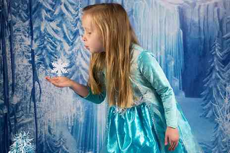 Debbie Wilkinson Photography - Ice Princess Photoshoot With Print  - Save 80%