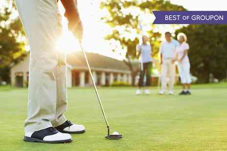 PGA Golf Academy Staverton Park -  Full Day Golf of Tuition With Lunch - Save 72%