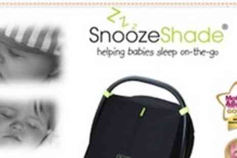 SnoozeShade - Award winning SnoozeShade blackout cover for infant car seats - Save 50%