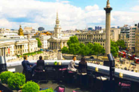 The Trafalgar Hilton - Sky High Sharing Platter with Margaritas for Two - Save 43%