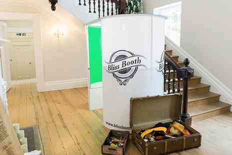 Bliss Booth - Photobooth Hire With Unlimited Prints and USB Stick  - Save 43%