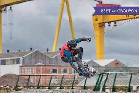 cable & wake - Wakeboarding Session at Titanic Dock For One  - Save 0%