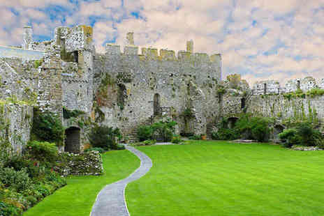 Manorbier Castle - Entry to the Castle and Grounds for Two Adults   - Save 45%