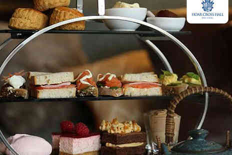 Hoar Cross Hall Spa Hotel - Afternoon Tea for Two  - Save 0%