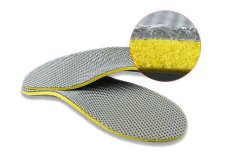 Richardson Group - Orthotic Shoes Insoles - Save 75%