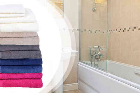BuyBay BV - 100% Egyptian Cotton Towel Bundle by Jules Clarysse - Save 55%