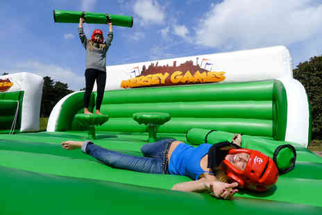 Mersey Games - It's a Knockout style activity day for Eight  - Save 50%
