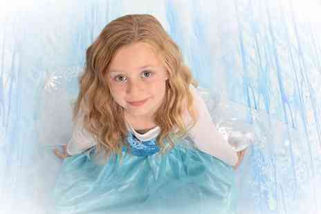 Chris Mullane Photography - Princess Themed Photoshoot With Four Prints - Save 89%