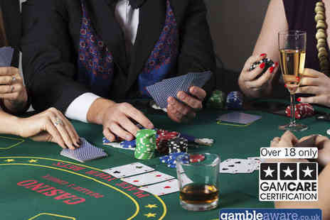 Grosvenor Golden Horseshoe Casino - Two Course Dinner, Glass of Prosecco, and £10 Gaming Chip Each for Two  - Save 63%