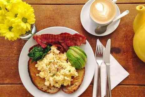 The Canvas - All Day Breakfast With Hot Drink and Yoga  - Save 29%