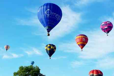 Tiverton Balloon Festival - Three Nights stay For Two With Festival Pass - Save 34%