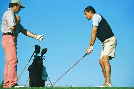 Manston Golf Centre - Two Private Golf Lessons With PGA Instructor - Save 62%