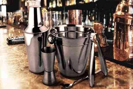 Kitchen Gadgets - Stainless Steel Cocktail Set - Save 60%