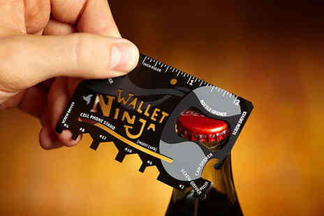 Mooch - Wallet Ninja 18 in 1 Credit Card Sized Multi Tool - Save 53%