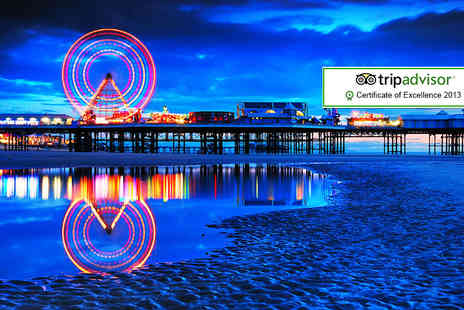 Alfies Hotel - Two night Blackpool break for two including dinner and wine - Save 51%
