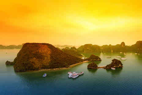 Getaway Halong Sapa - Ten day guided tour of Vietnam including accommodation, overnight cruise, transport, tour guide and daily breakfast - Save 0%