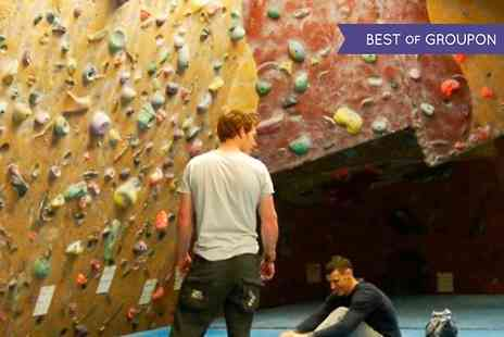 Climb Scotland - Introduction to Indoor Climbing Plus Outdoor Taster Session  - Save 67%