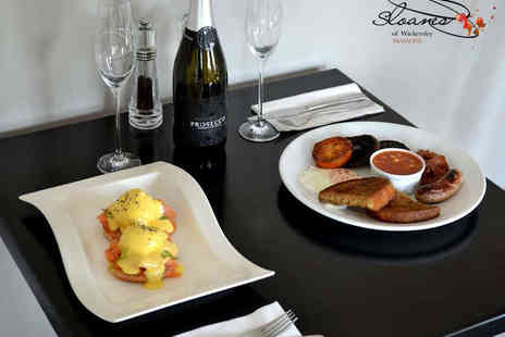 Sloanes of Wickersley - Brunch with a Glass of Bubbly Each for Two - Save 50%