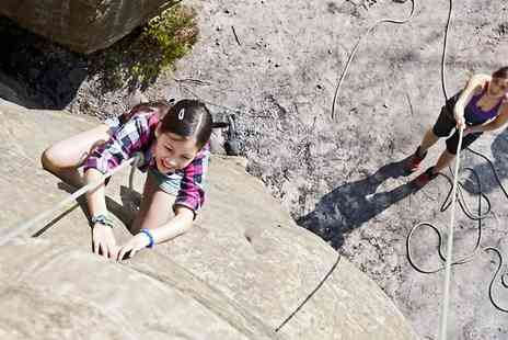 Climb and Adventure - Half Day of Rock Climbing For One  - Save 60%