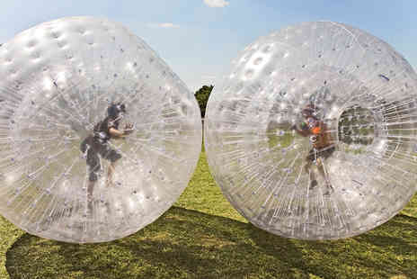 Thunderballz - Zorbing Experience for Two - Save 50%