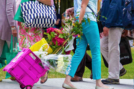 Royal Horticultural Society - Two Tickets to RHS Hampton Court Palace Flower Show - Save 10%