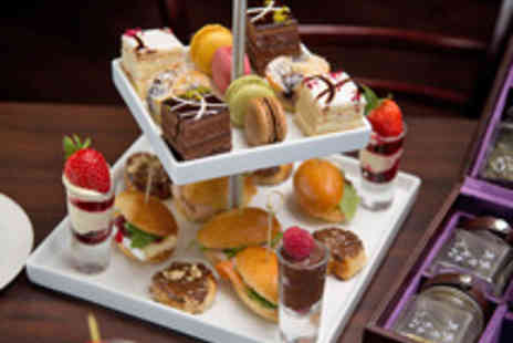 Hilton Bath City - French Champagne Afternoon Tea for Two - Save 51%