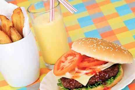 Tasty Bites Restaurant - Meal and Smoothie or Milkshake For One  - Save 47%