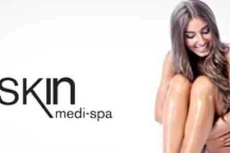 Skin Medi Spa - Nine Sessions of IPL Hair Removal on One Large Area or Two Small Areas - Save 87%