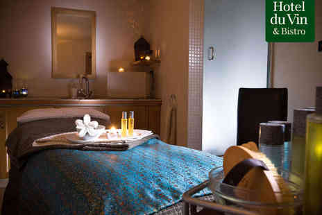 Spa du Vin - Spa Day with Two Treatments, Use of Facilities, and Glass of Champagne for One  - Save 49%