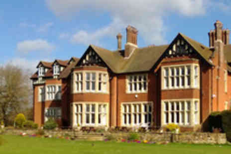Scalford Hall Hotel - Alluring Leicestershire Country Escape for Two - Save 54%