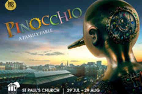 Iris Theatre - Ticket to Covent Garden Open Air Performance of Pinocchio - Save 0%