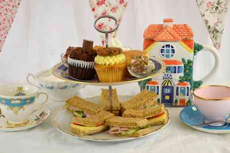 The Travelling Cupcake - Afternoon Tea For Two  - Save 0%