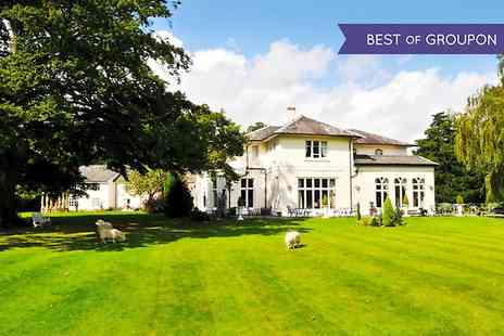 The Llyndir Hall Hotel - One night Stay For Two With Breakfast and Spa Access - Save 0%