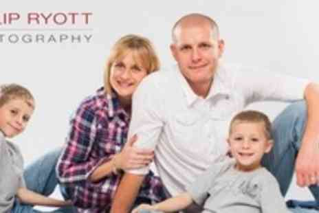 Philip Ryott Photography - Family Photo Shoot With Framed 5x7 Print - Save 92%