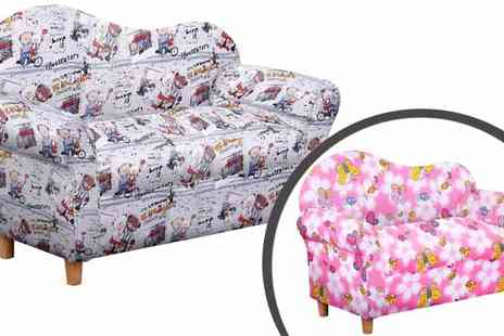JKS Agency - A Choice of Childrens Printed Fabric Sofas - Save 80%