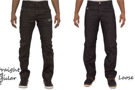 Raw Indigo   - Choice of Mens Enzo Jeans - Save 53%