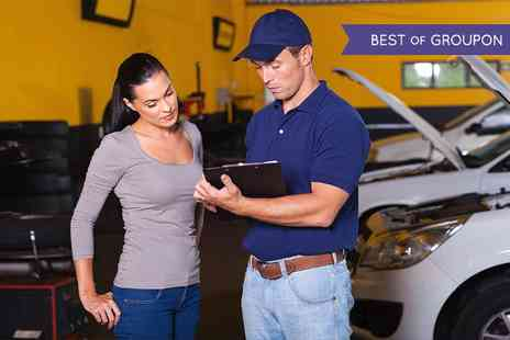 Colins MOT & Service - MOT Test Plus Mini Valet - Save 65%