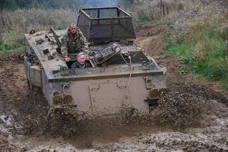 Tanks a lot - Half day tank driving experience  - Save 15%