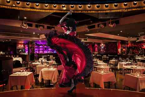 Proud Cabaret - P Three Course Dinner, Prosecco and Burlesque - Save 58%