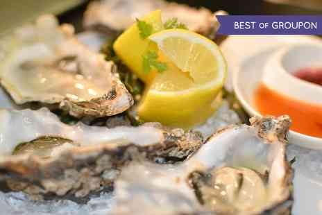 Chamberlains Restaurant - Oysters and Prosecco or Bottle of Champagne For Two  - Save 33%