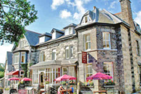 Gwesty Glan Aber Hotel - Snowdonia Getaway for Two with Full Welsh Breakfast - Save 55%