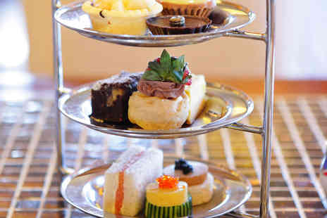Moor Hall Hotel & Spa - Double AA Rosette Afternoon Tea with Sparkling Wine - Save 23%