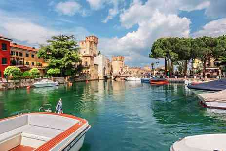 Hotel Splendid Sole - Three or Seven nights by Lake Garda including half board & wellness centre access - Save 41%