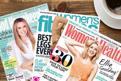 Three PM - Womens Lifestyle Magazine Subscription for Womens Fitness, Womens Health or Good House Keeping - Save 31%